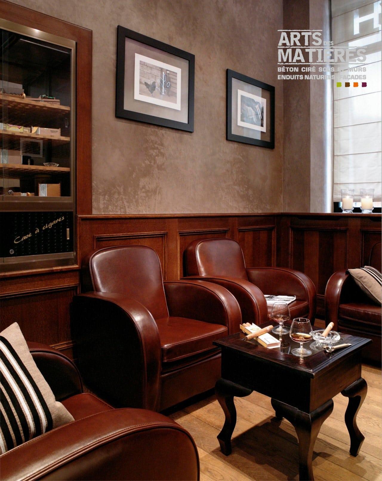 murs en b ton cir b ton cir enduits d coratifs naturels by arts des mati res. Black Bedroom Furniture Sets. Home Design Ideas